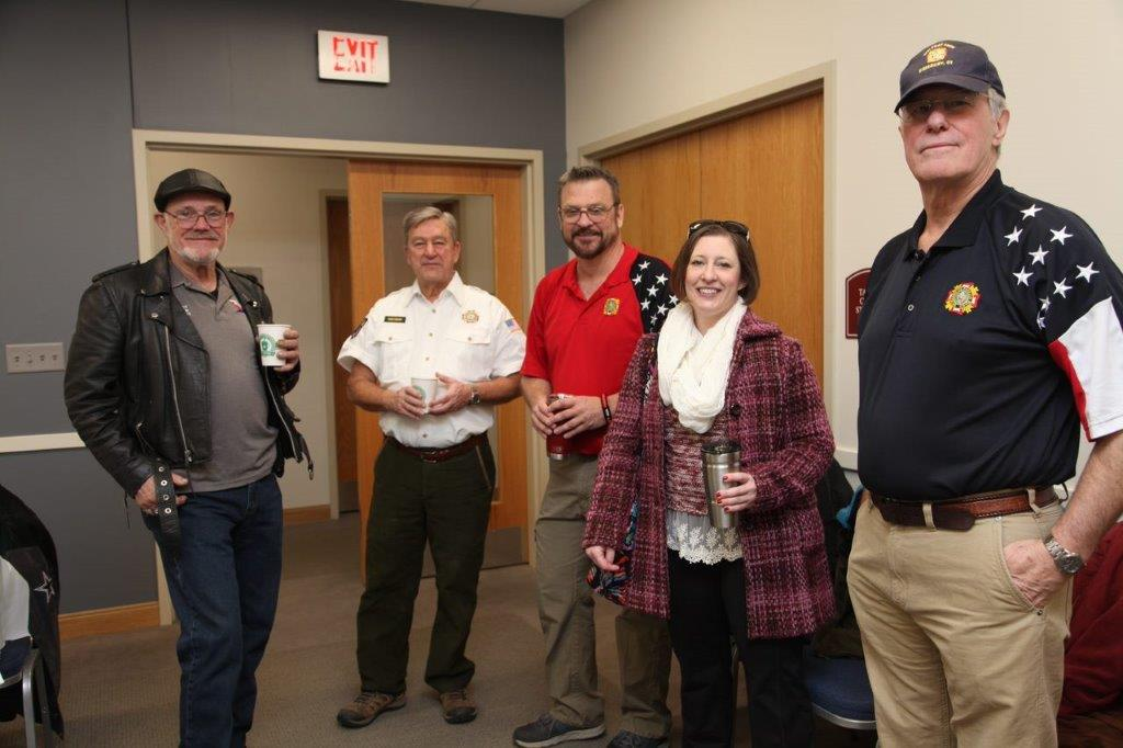 VFW post 1926 sponsors a breakfast for Farmington valley veterans and their families at Simsbury's main fire station in appreciation for their service. This provided an opportunity for veterans to get answers regarding their benefits from the VA and VFW.