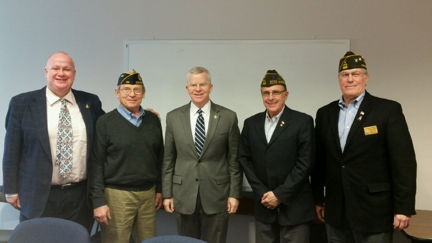 Meeting with VA Commissioner Sean Connelly